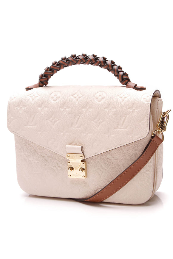 Louis Vuitton Empreinte Pochette Metis Bag Neige Ivory