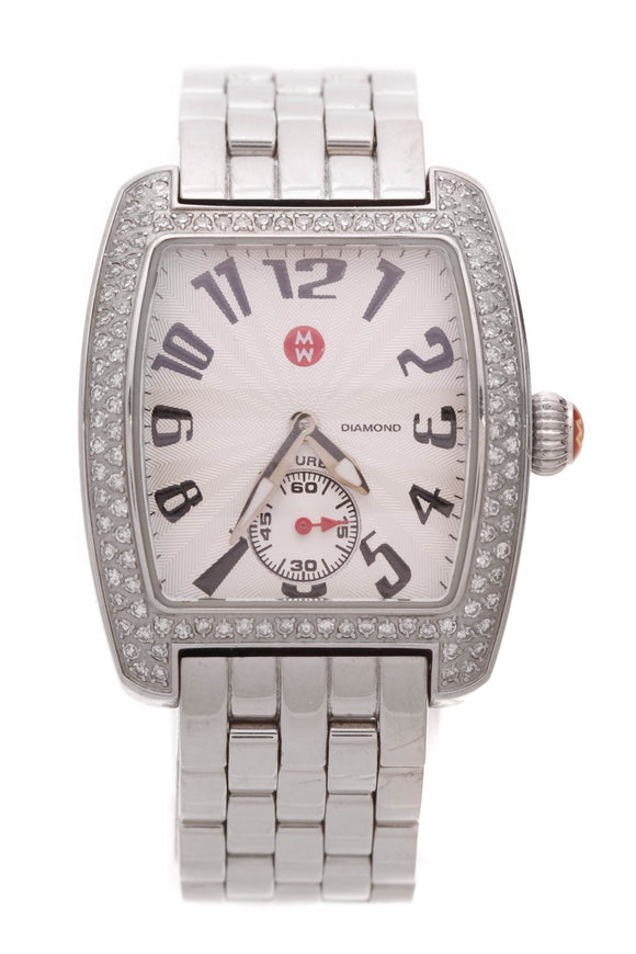 Michele Diamond Mini Urban Watch Steel