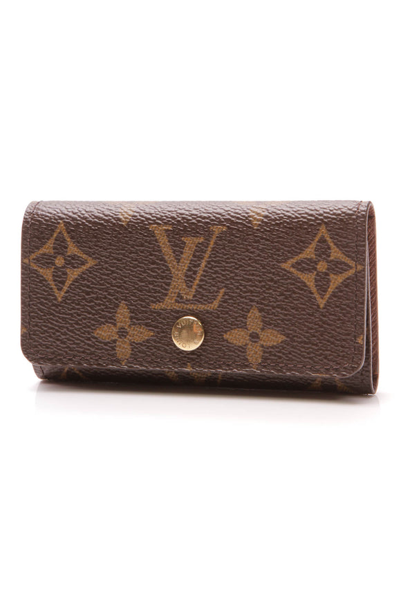 Louis Vuitton 4 Key Holder Monogram Brown