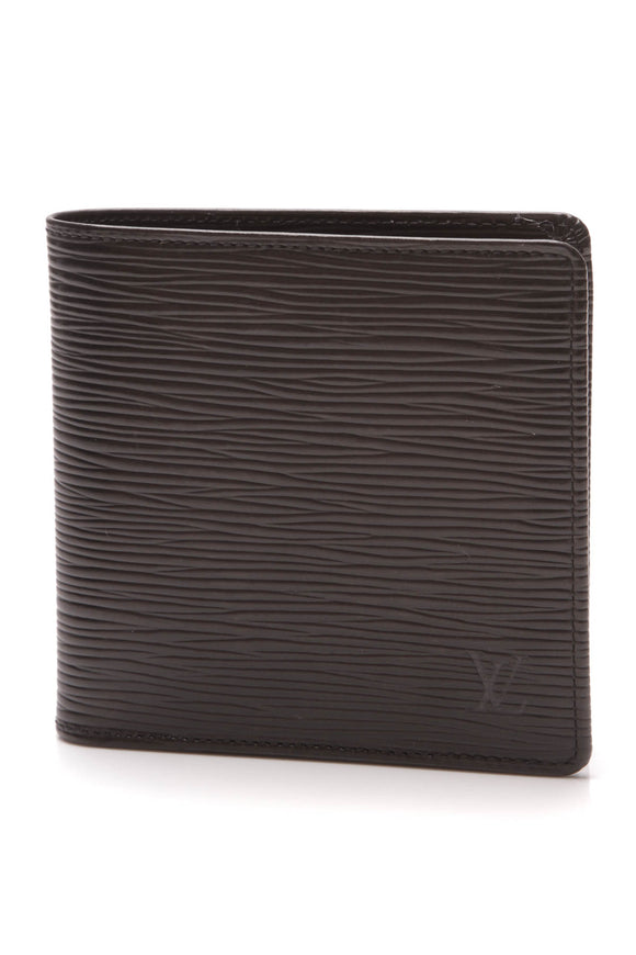 Louis Vuitton Epi Marco Wallet Black