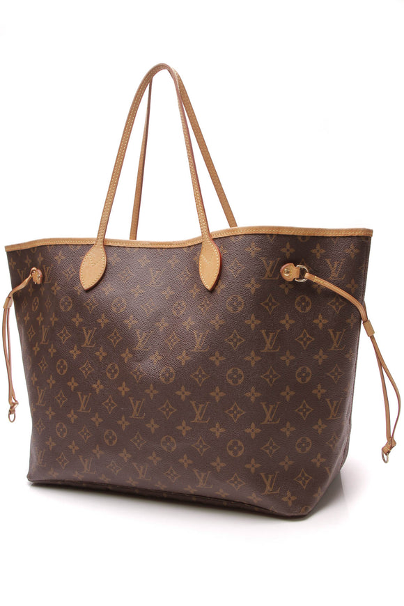 Louis Vuitton Neverfull GM Tote Bag Monogram Brown
