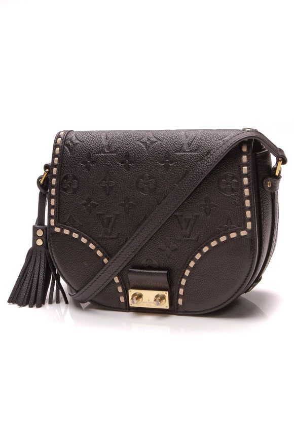 Louis Vuitton Empreinte Junot Bag Black