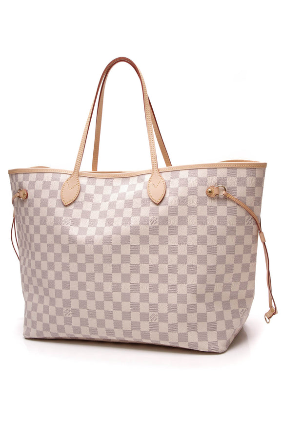 Louis Vuitton Neverfull GM Bag Tote Bag Damier Azur