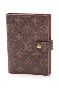 Louis Vuitton Small Agenda Cover Monogram Brown