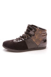 Louis Vuitton Move Up Sneakers Black Monogram Size 36.5