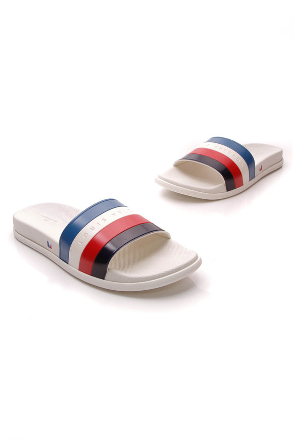 Louis Vuitton America's Cup Men's Slides White US Size 12