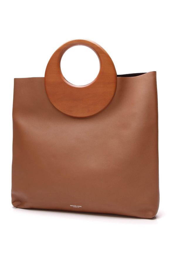 Michael Kors Summerset Ring Tote Bag Caramel Brown