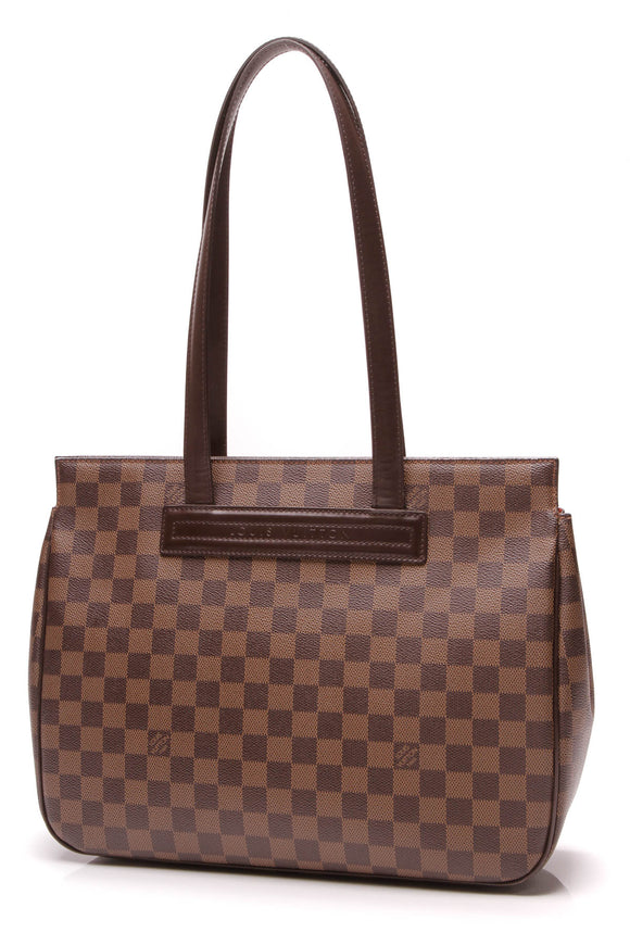 Louis Vuitton Parioli Tote Bag Damier Ebene Brown