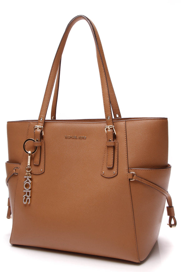 Michael Kors Jet Set Tote Bag Tan Saffiano