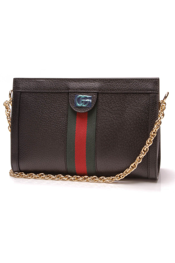 Gucci Ophidia Small Shoulder Bag Black