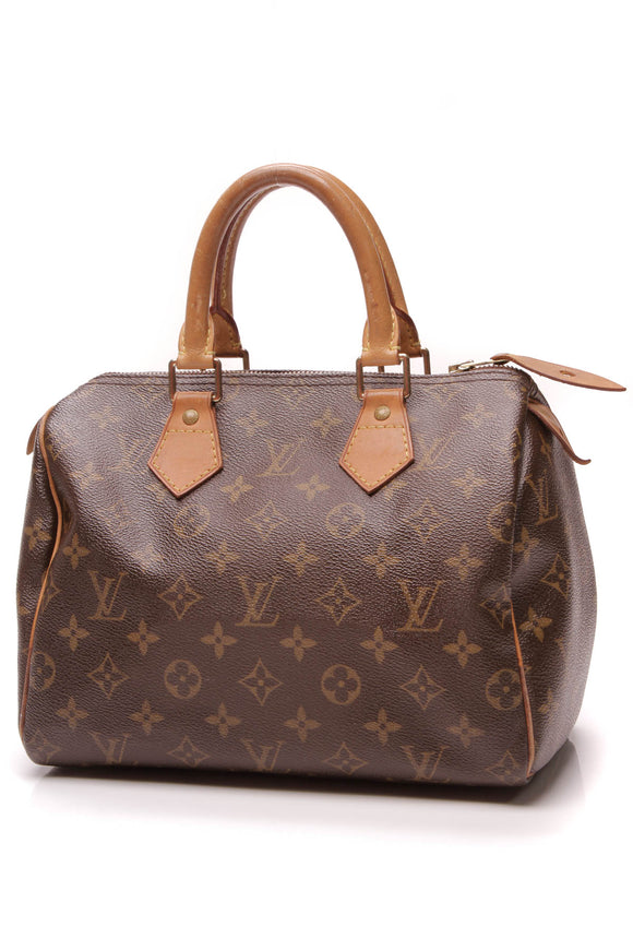 Louis Vuitton Speedy 25 Bag Monogram Brown