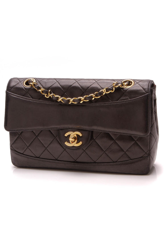 Chanel Vintage Small Flap Bag Black