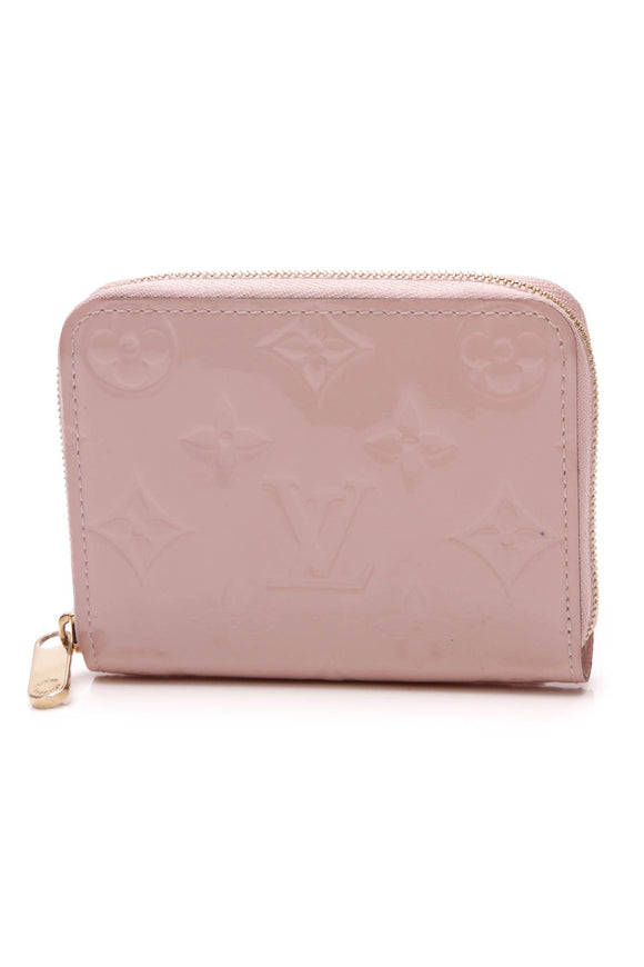 Louis Vuitton Vernis Zippy Coin Wallet Rose Ballerine Pink