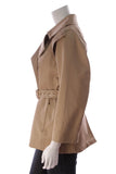 Max Mara Trench Coat Tan Size 2
