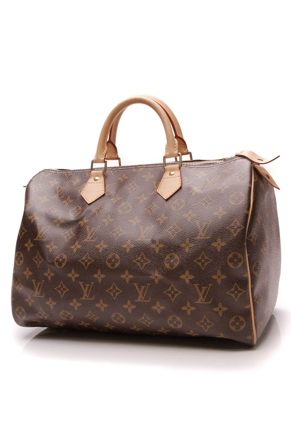 Louis Vuitton Speedy 35 Bag Monogram Brown