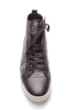 Louis Vuitton Chapman Lion High Top Men's Sneakers Encre Savane Monogram US Size 12