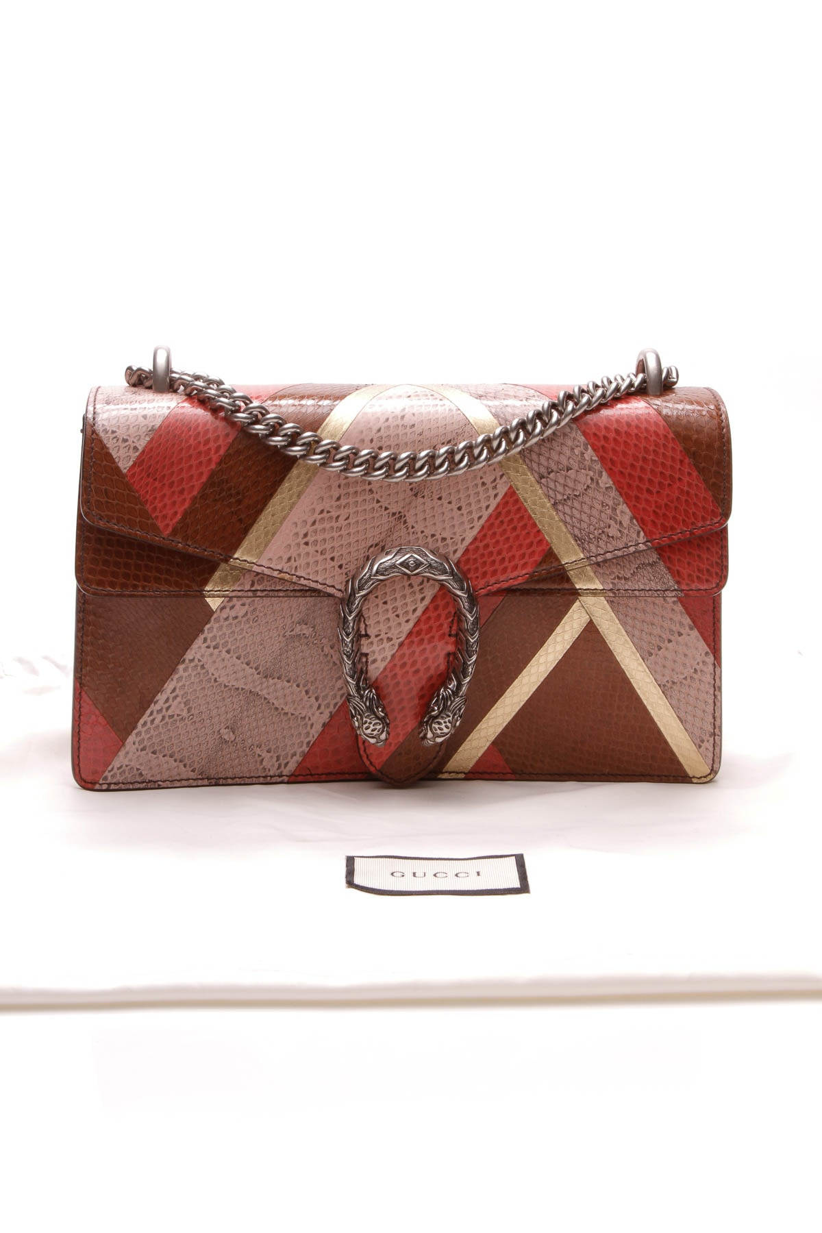 Ayers Snakeskin Small Dionysus Bag - Multicolor