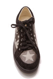 Chanel CC Star Low-Top Sneakers Black Cream Size 41