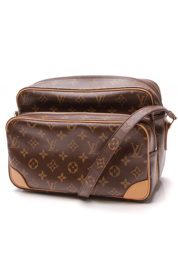 Louis Vuitton Nil Crossbody Bag Monogram Brown