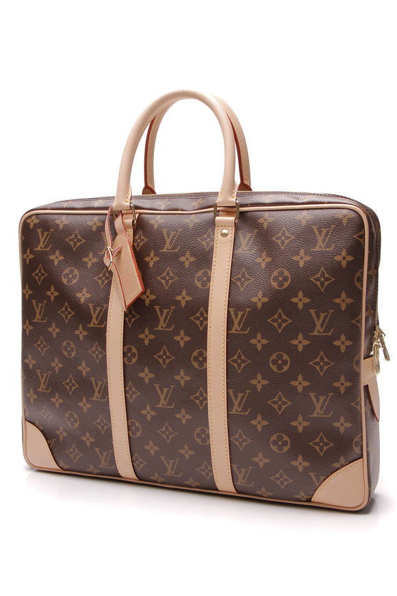 Louis Vuitton Porte-Documents Voyage Briefcase Monogram