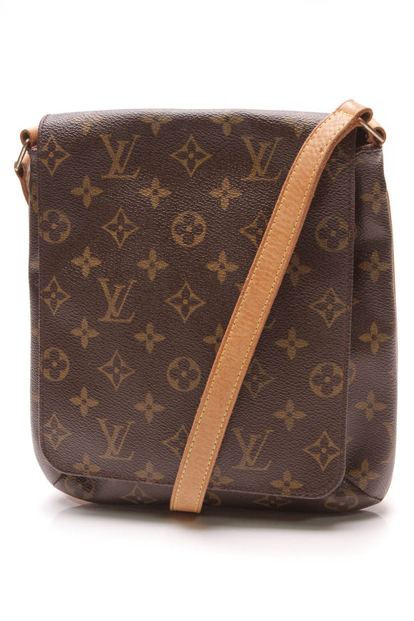 Louis Vuitton Musette Salsa Crossbody Bag Monogram Brown