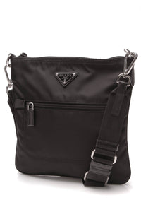 Prada Tessuto Crossbody Bag Black Nylon