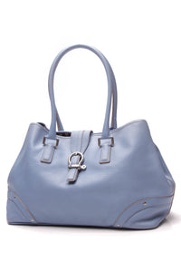 Burberry Buckle Tote Bag Baby Blue
