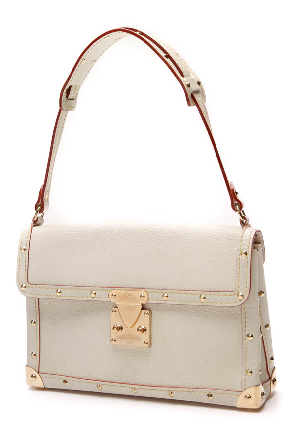 Louis Vuitton L'Aimable Bag Ivory Suhali