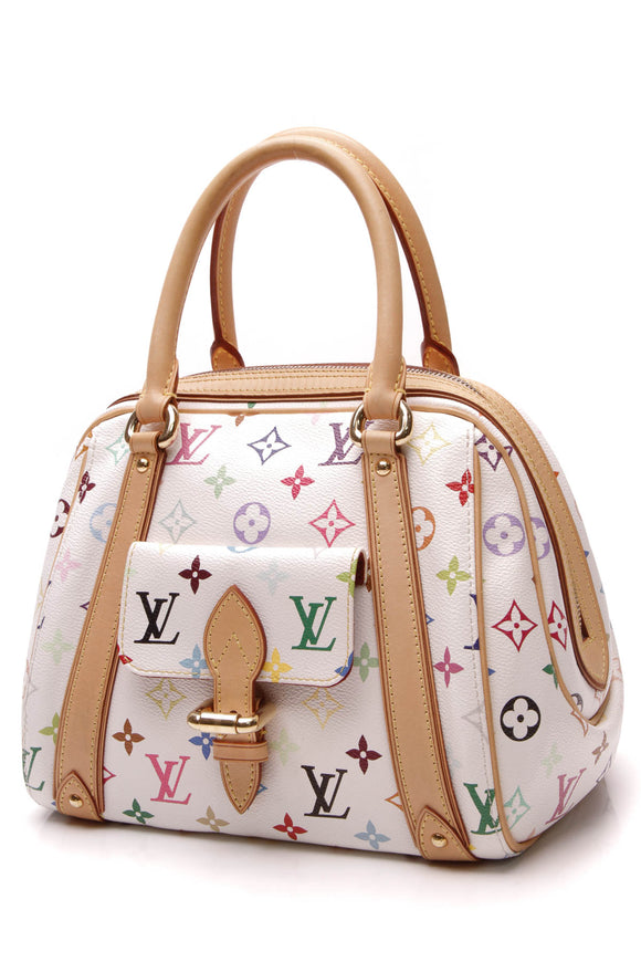 Louis Vuitton Priscilla Bag White Multicolore Monogram