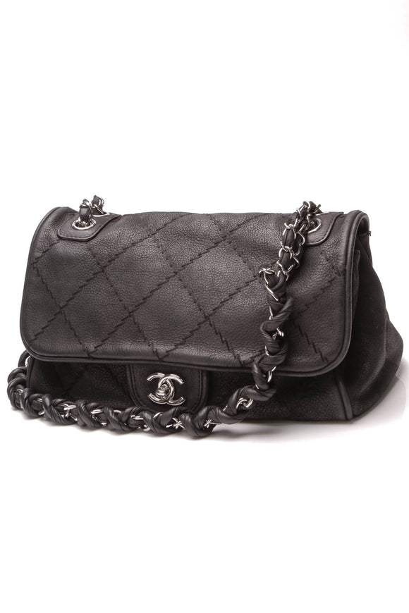 Chanel Ultimate Stitch Accordion Flap Bag Black