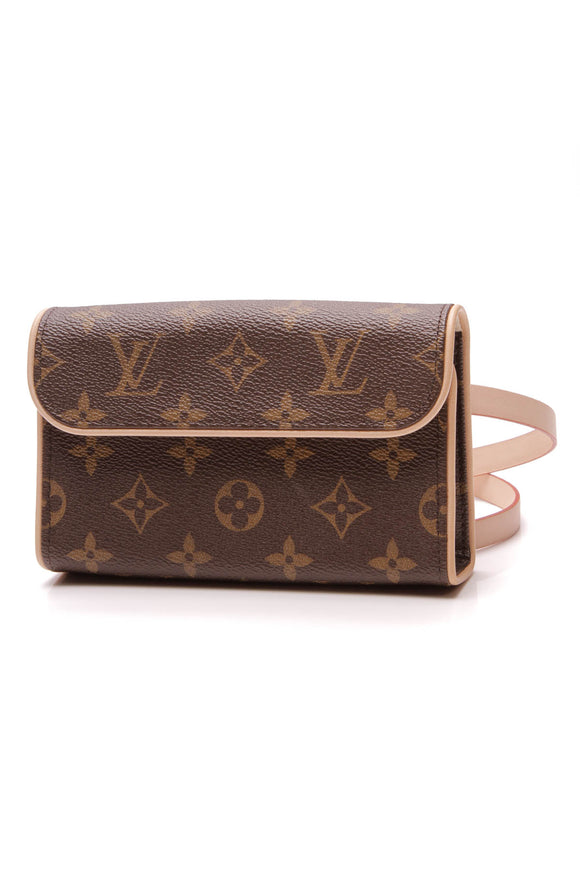 Louis Vuitton Pochette Florentine Belt Bag Monogram Brown