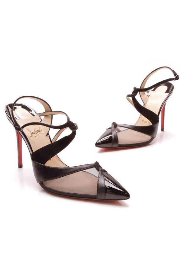 Christian Louboutin Evoluta Pumps Black Size 36