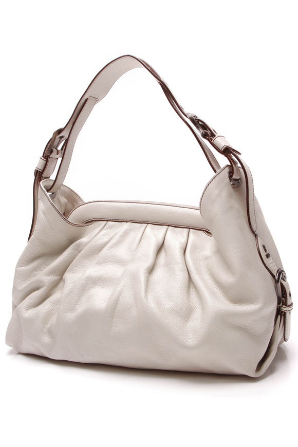 Fendi Borsa Hobo Bag Ivory