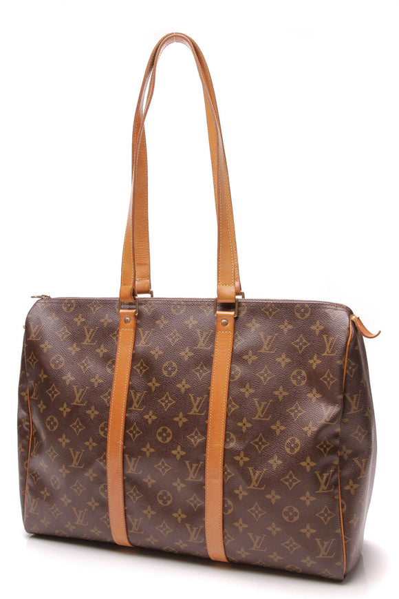 Louis Vuitton Vintage Sac Flanerie 45 Bag Monogram Brown