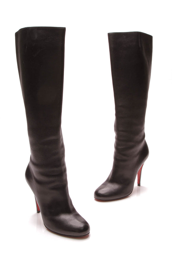 Christian Louboutin Eloise Boots Black Size 36.5