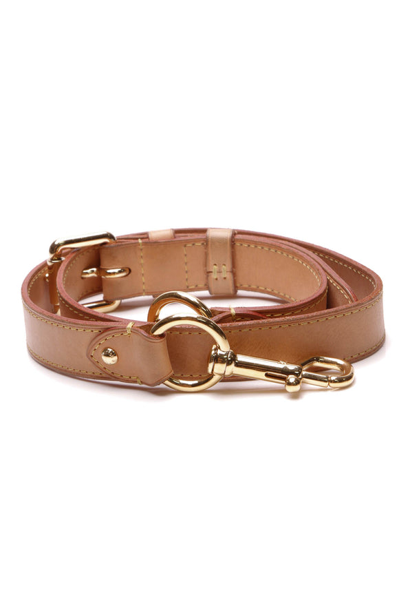 Louis Vuitton Adjustable Strap Vachetta Leather
