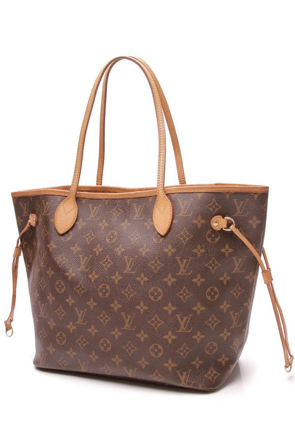 Louis Vuitton Neverfull MM Tote Bag Monogram
