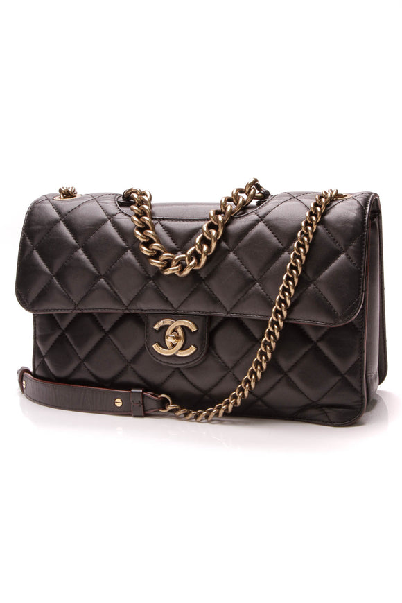 Chanel Perfect Edge Flap Bag Black