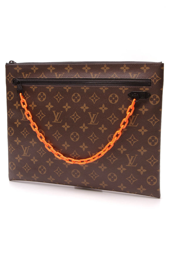 Louis Vuitton Solar Ray A4 Pouch Monogram Brown