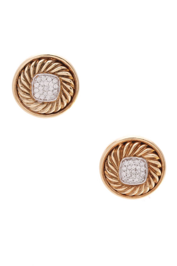 david-yurman-pave-diamond-round-earrings-18k-gold