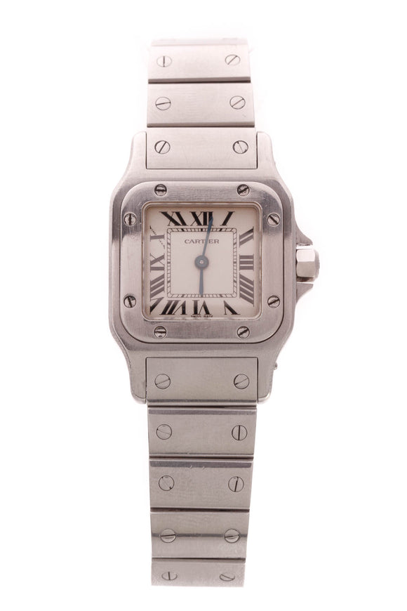 Cartier Santos Galbee Watch Steel