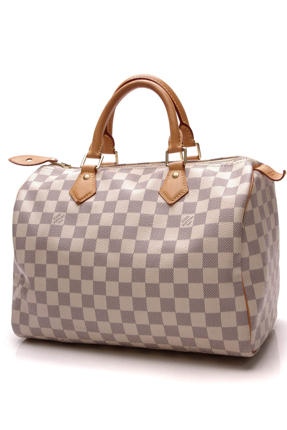 Louis Vuitton Speedy 30 Bag Damier Azur