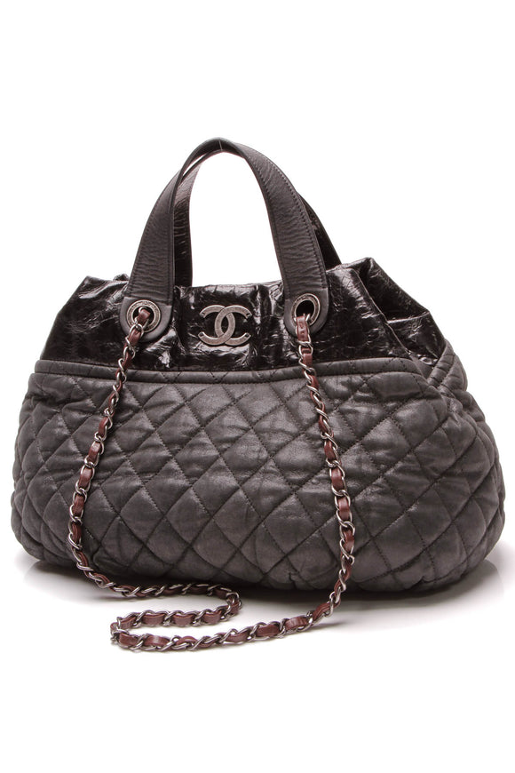 Chanel In the Mix Small Tote Bag Black