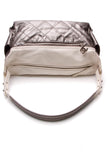 Chanel Paris-Biarritz Hobo Bag Silver
