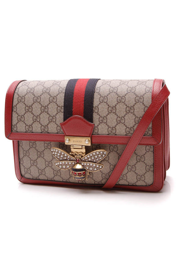 Gucci Queen Margaret Medium Shoulder Bag Supreme Canvas