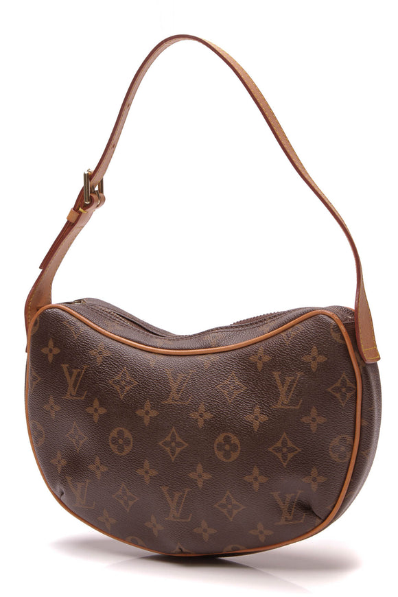 Louis Vuitton Pochette Croissant Bag Monogram Brown