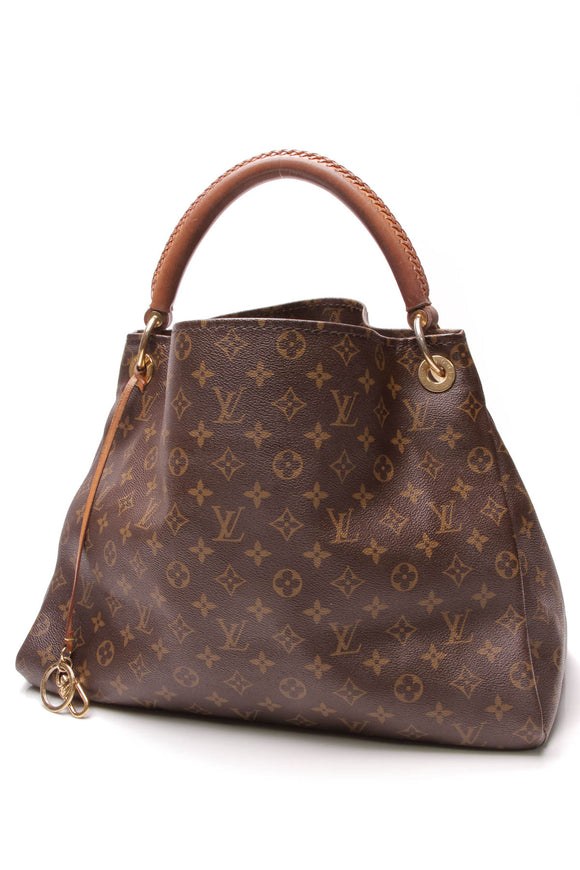 Louis Vuitton Artsy MM Bag Monogram Canvas Brown