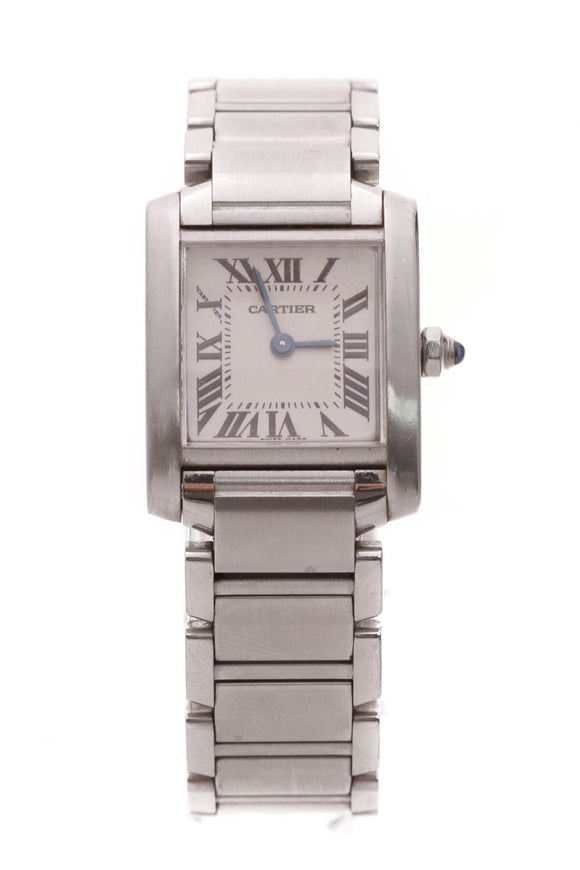 Cartier Tank Francaise Small Watch Steel
