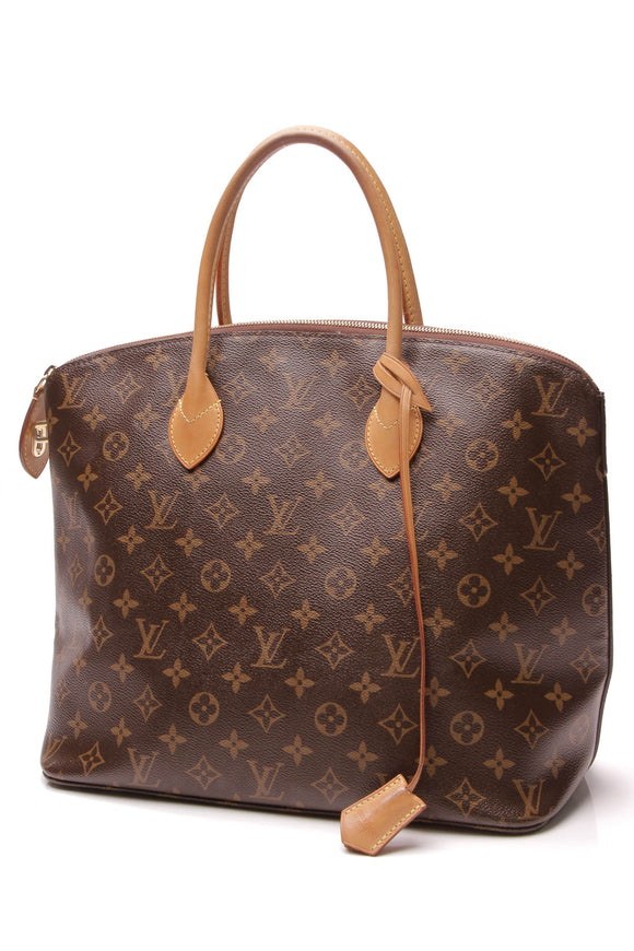 Louis Vuitton Lockit MM Bag Monogram Brown
