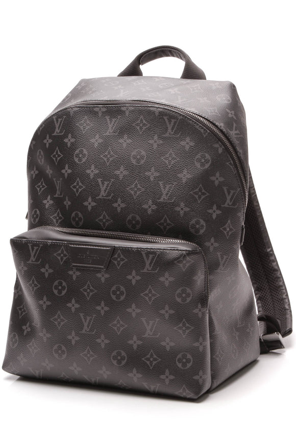 Louis Vuitton Discovery PM Backpack Monogram Eclipse Gray